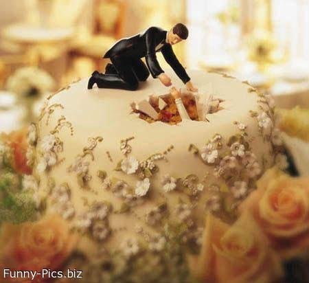 Crazy Wedding Cake