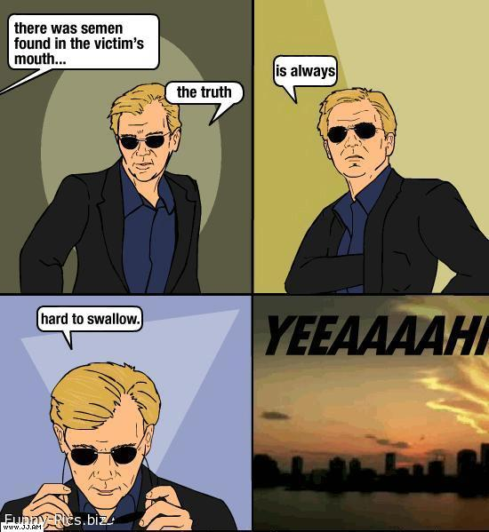 CSI Miami: Truth is hard to swallow