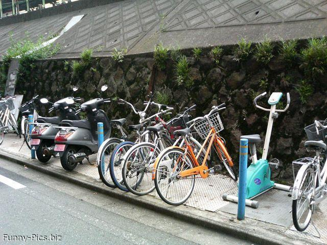 Cycle(tte) parking
