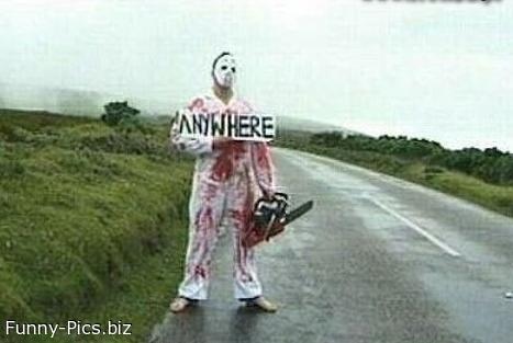 Dangerous Hitch Hiking