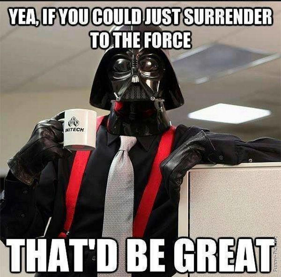 Darth Vader gets a new style