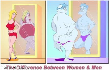 Difference Between Women & Men