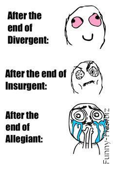 Divergent Insurgent Allegiant sequel