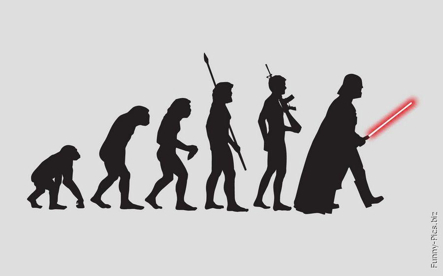 Evolution of men