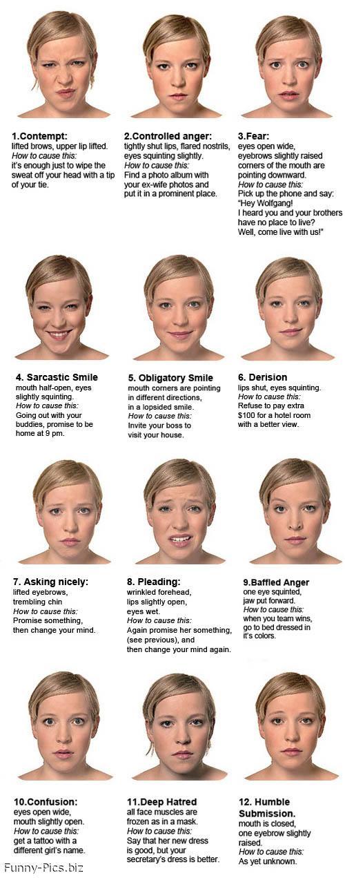 Facial expressions roadmap