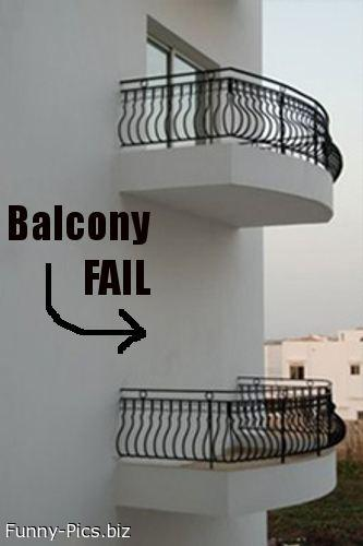 Failures: Balcony