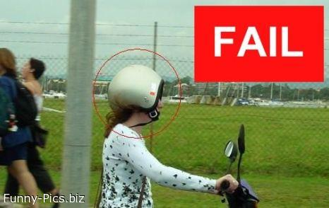 Failures: Bike Helmet