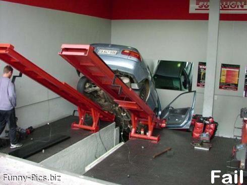 Failures: Car repairs