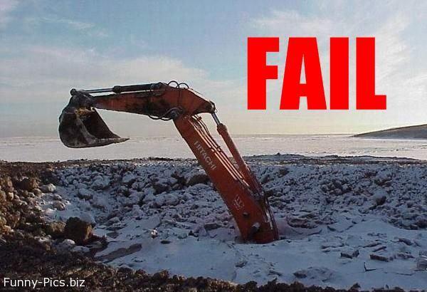 Failures: Digging