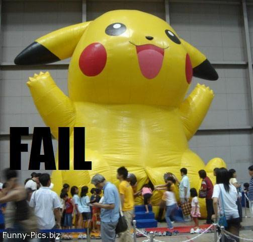 Failures: Pokemon
