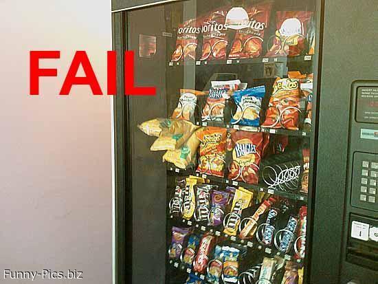 Failures: Vending Machines