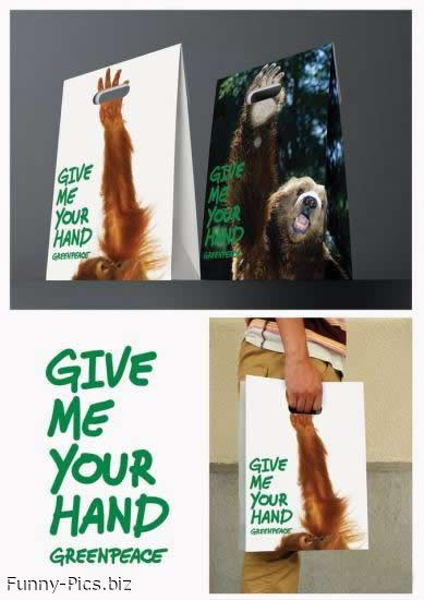 Funny Bags: Give me your hand