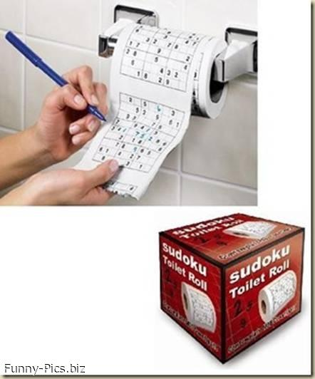 Funny Gift Ideas: Entertaining Toilet Paper