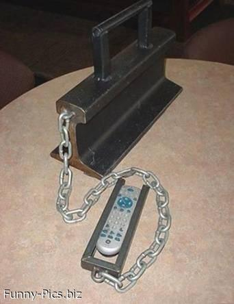 Funny Gift Ideas: Remote Control Holder