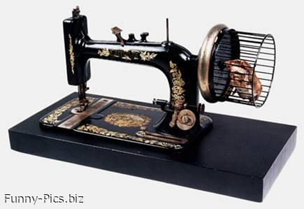 Funny Gift Ideas: Zero Impact Sewing Machine