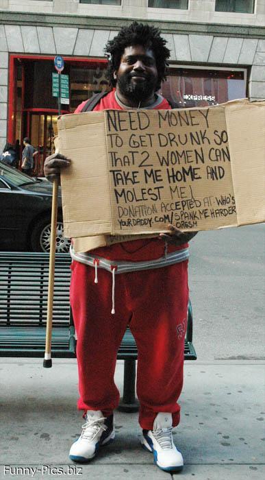 Funny Homeless