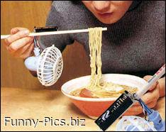 Funny Inventions: The chinese spaghetti cooler