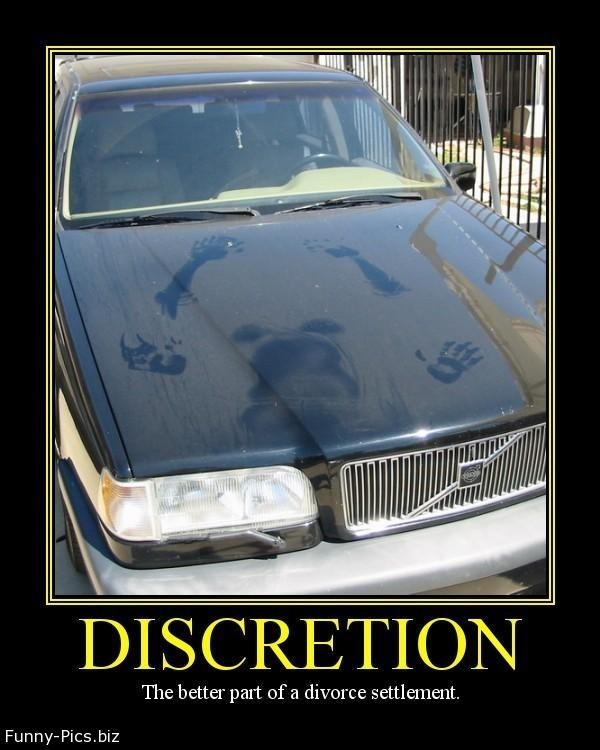 Funny Motivationals: Discretion