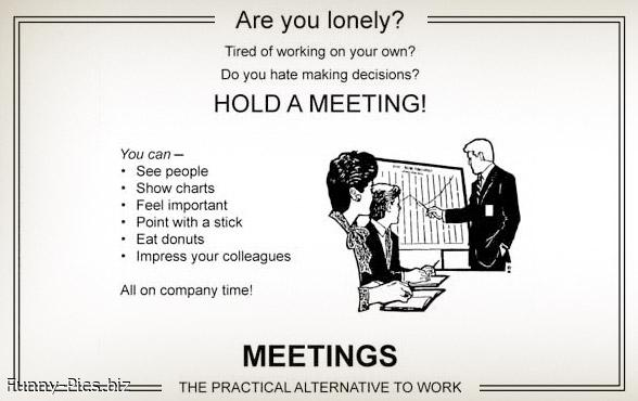 Funny Motivationals: Meetings