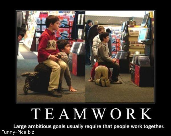 Funny Motivationals: Teamwork