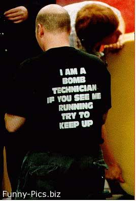Funny T-Shirts: Jogging shirt