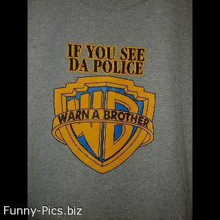 Funny T-Shirts: WB explained