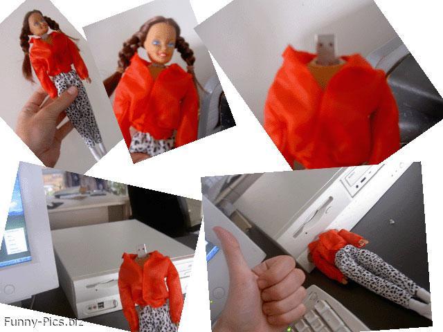 Gift Ideas: Barbie Horror USB dongle
