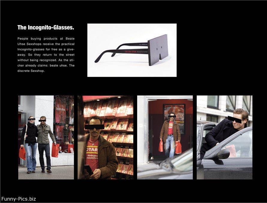 Gift Ideas: The Incognito-Glasses