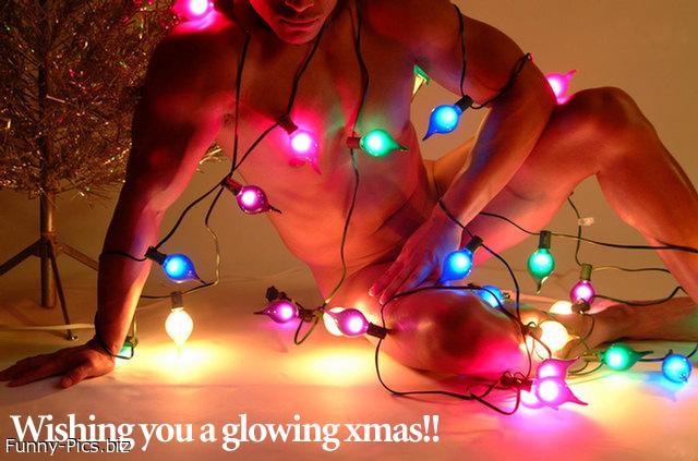 Glowing Christmas