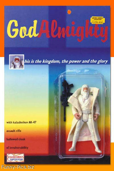 God Almighty Action Figure