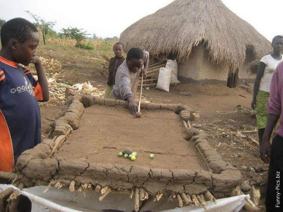Handcrafted pool play