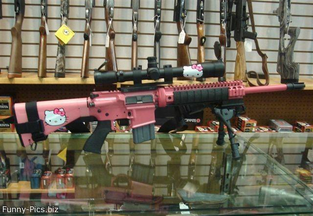Hello Kitty Sniper Rifle