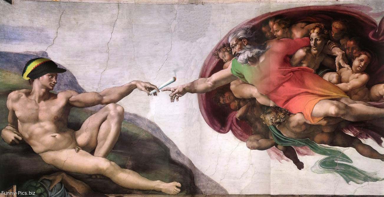If Michelangelo painted in Giamaica