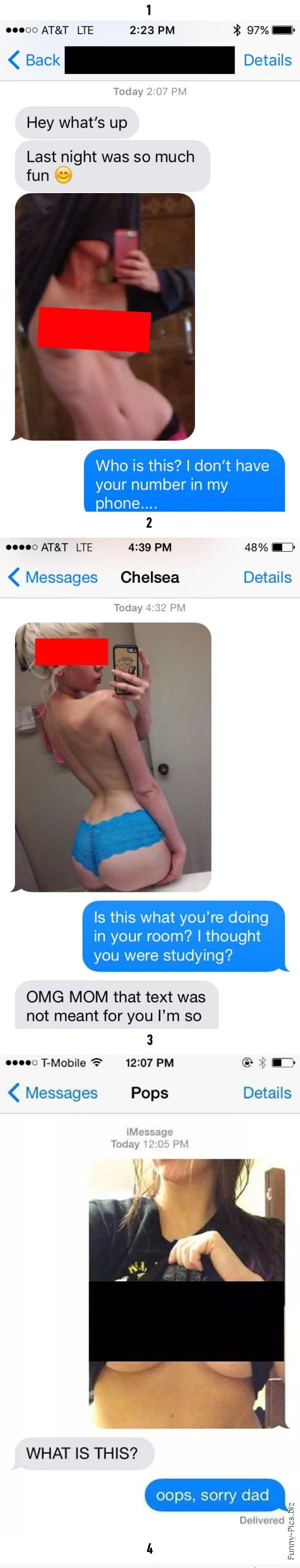 Images sent to wrong number 1