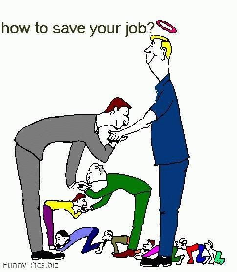 Job saving technique