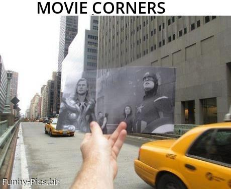Movie Corners. The Avengers