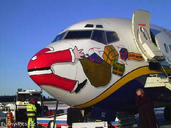 Plane decorating idea
