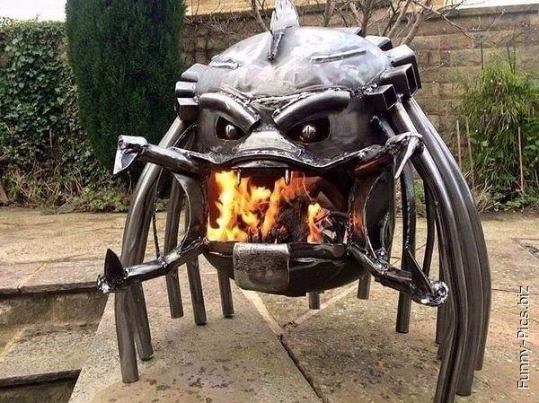 Predator Fireplace