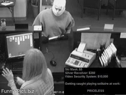 Priceless robbery