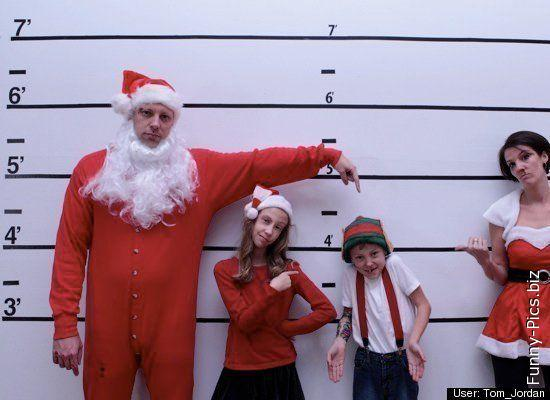 Santa Claus family under arrest