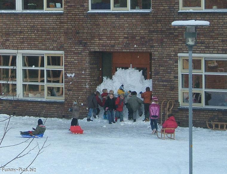 School closed for snow!