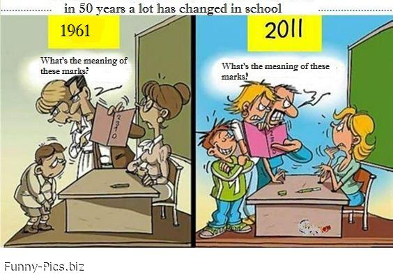 School is changing