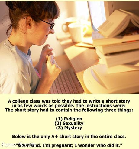Shortest Thrilling Story