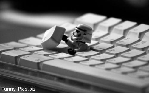 Star Wars out of the keyboard