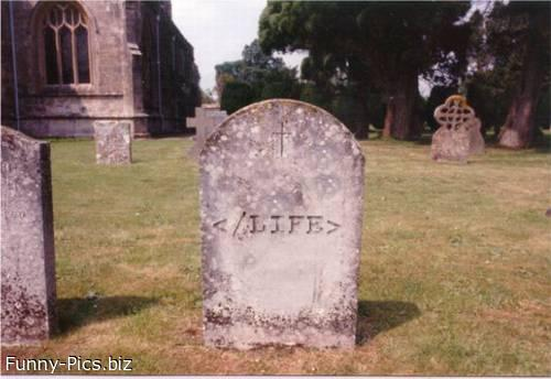 The HTML cemetery