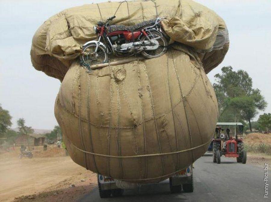 Transoportation fails: Never too big