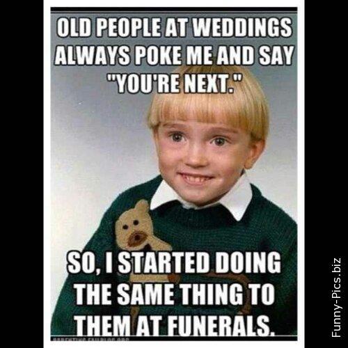 Wedding clichés
