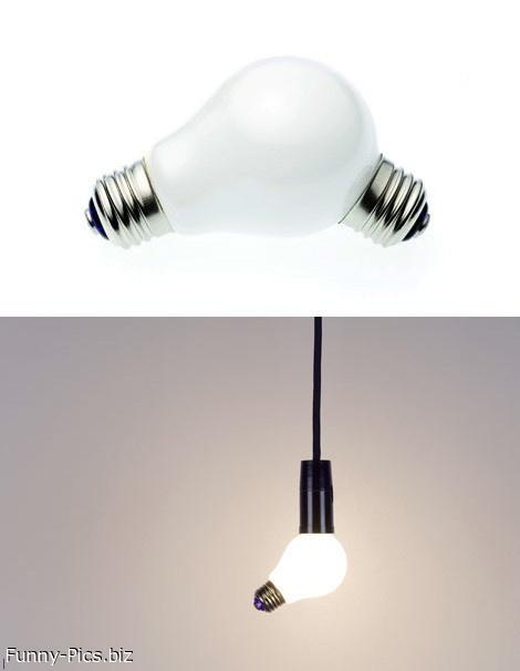 Weird Lightbulb