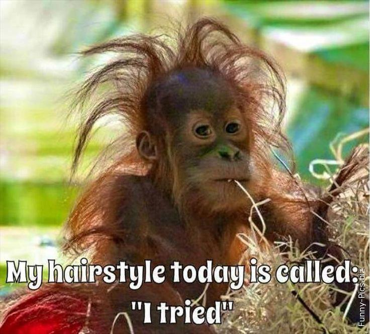 When my hairstyle is not perfect