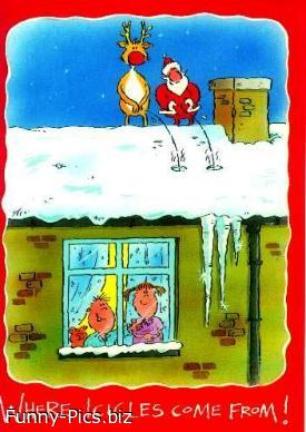 Where Icicles come From!